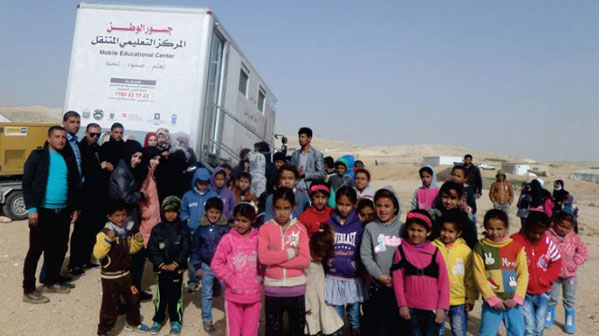 Mobile Educational  Center: A truck that carries science and hope to marginalized areas
