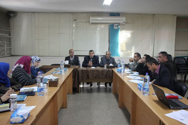QOU holds a workshop about using the statistical figures