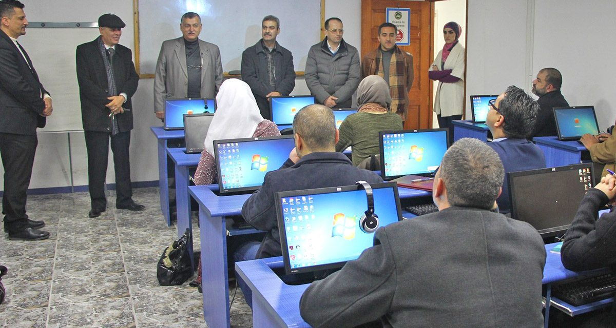 Continuing Education and Community Service Center holds a workshop about data preparation and reading statistical figures