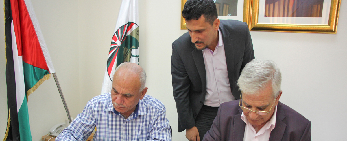 Al-Samou Municipality obtains an EU grant to serve the marginalized areas in partnership with Al-Quds Open University