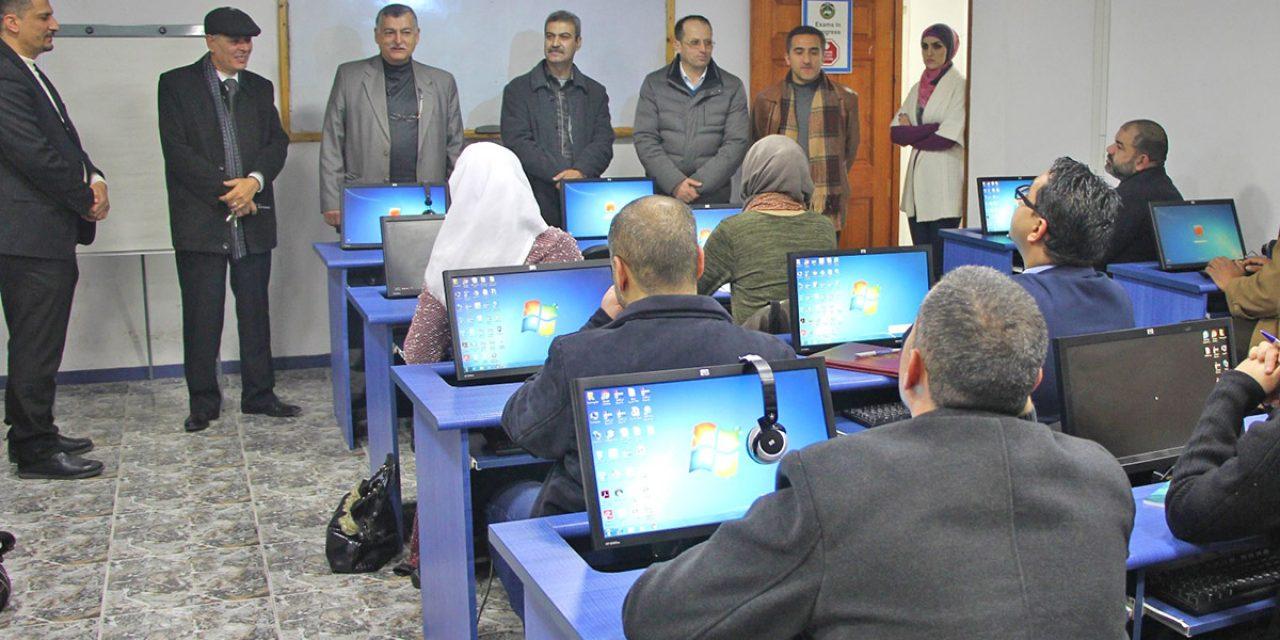 مركز التعليم المستمر وخدمة المجتمع يعقد ورشة عمل حول إعداد البيانات وقراءة الأرقام الإحصائية
