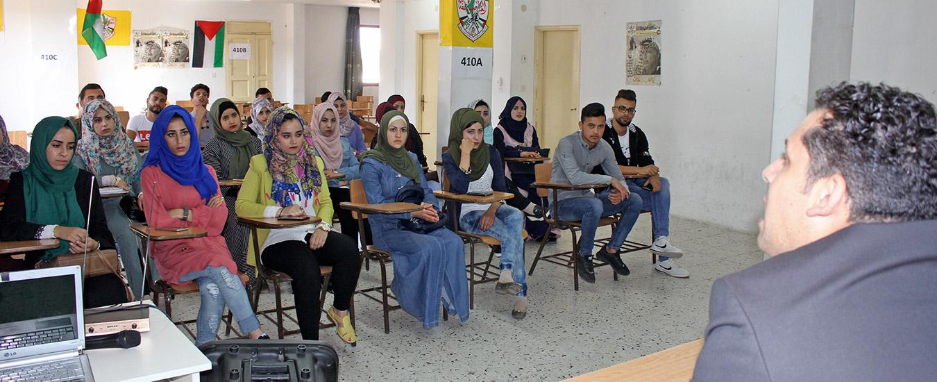 دورا التعليم المستمر في الفرع يعقد ورشة عمل بعنوان التخطيط الاستراتيجي