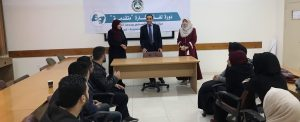 """غزة: """"التعليم المستمر"""" يفتتح دورة لغة الإشارة المتقدمة"""
