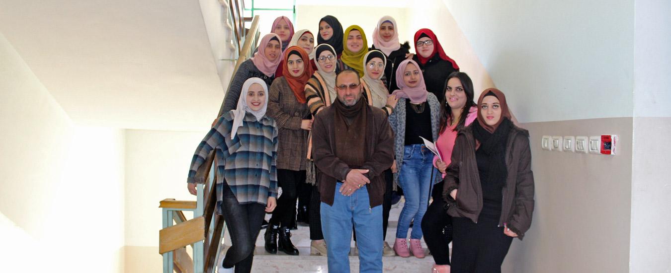 التعليم المستمر في بيت لحم يختتم دورة تدريبية لطلبة الادارة الصحية