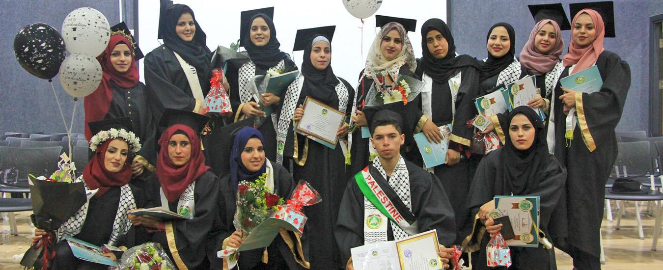 جنين: الاحتفال بتكريم كوكبة من الطلبة المتفوقين وتخريج فوجين من طلبة الدبلومات المهنية المتخصصة