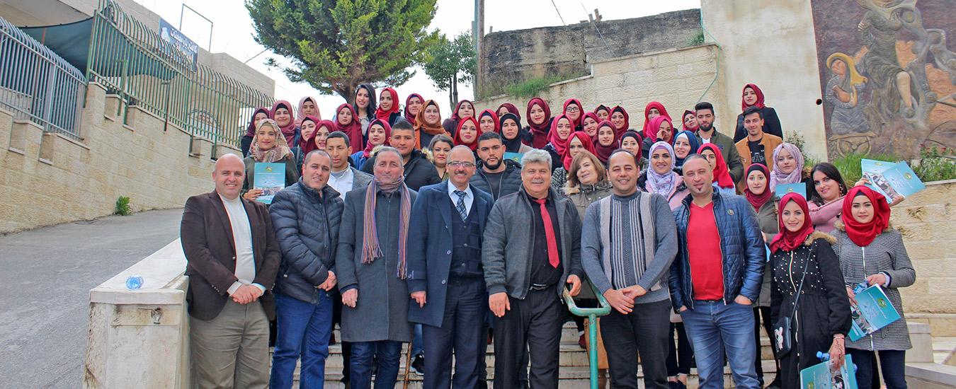 بيت لحم: الفرع يحتفل بتخريج عدد من الدورات التدريبية